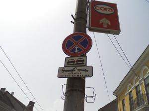 Semn pe Strada Memorandumului